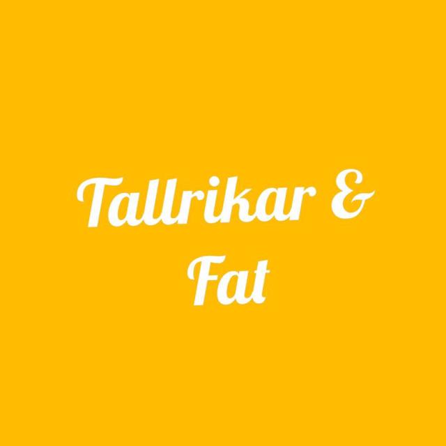 Tallrikar & Fat